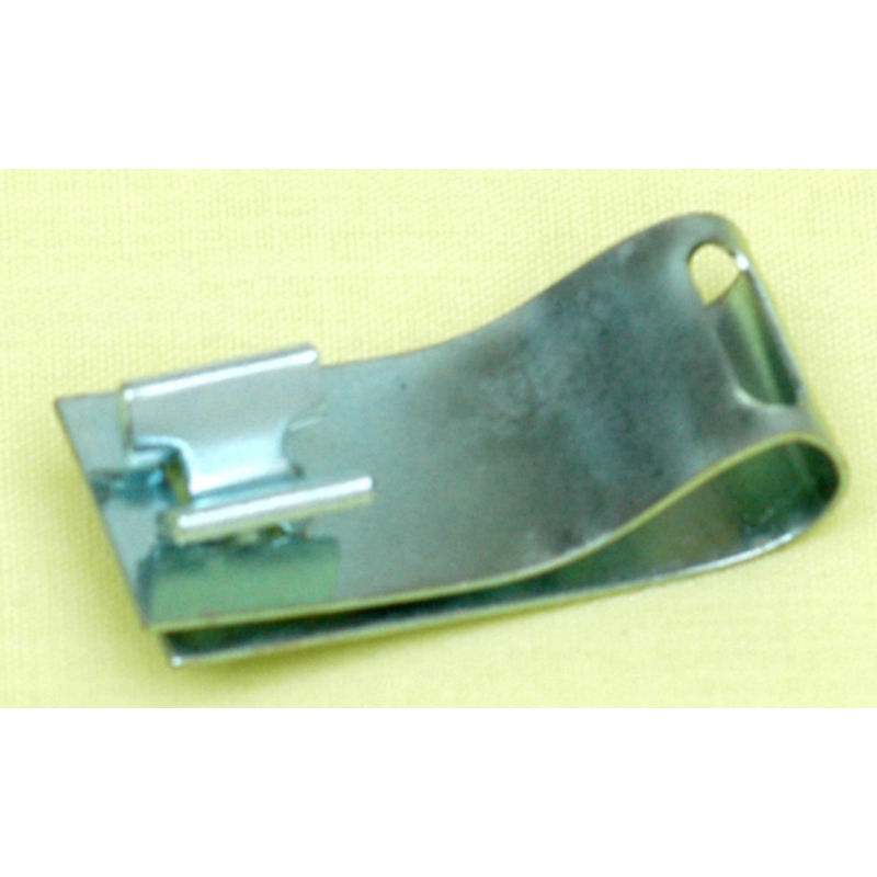 1965 1973 mustang fuel brake line clip used under floor pan for 1965 mustang floor pan