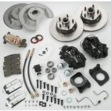 Front Drum To Disc Brake Conv Kit - 64-66 8 cyl w/dual M/C