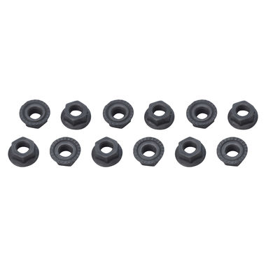1965-1968 Mustang Fender Apron Nuts, Concours, 12 pcs