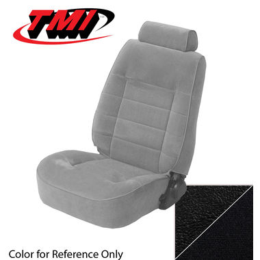 1990 Mustang Conv Low Back Seat Upholstery, Cloth, Black