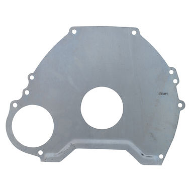 1964-1965 Mustang Bellhousing To Trans Spacer Plate, 6 cyl, A/T, 5 Bolt, Early 65