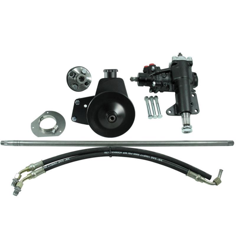 1965 1967 mustang power steering conversion kit 8 cyl m s 1 shaft. Black Bedroom Furniture Sets. Home Design Ideas
