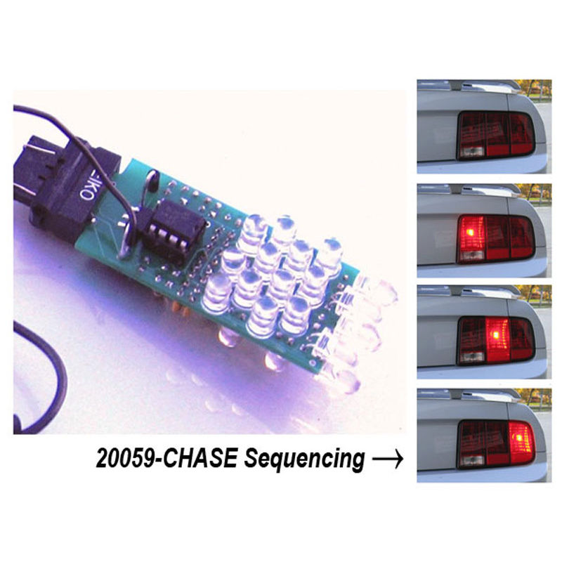 2005 2009 mustang led sequential tail light kit chase. Black Bedroom Furniture Sets. Home Design Ideas