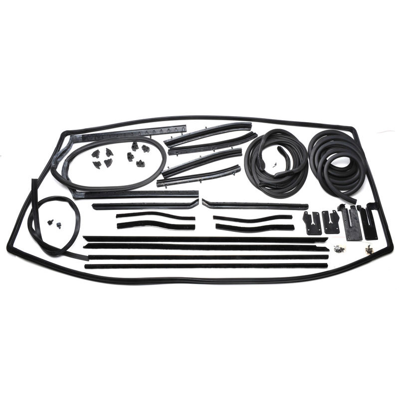 1965 1966 mustang weatherstripping kit conv. Black Bedroom Furniture Sets. Home Design Ideas