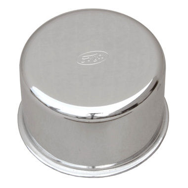 1964-1966 Mustang Oil Filler Cap, Chrome, w/FoMoCo Logo
