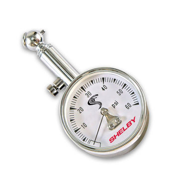 1965-1970 Mustang Tire Pressure Gauge, Shelby Snake