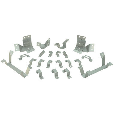 1967-1968 Mustang Interior Trim Bracket Kit, FB, 21 pcs