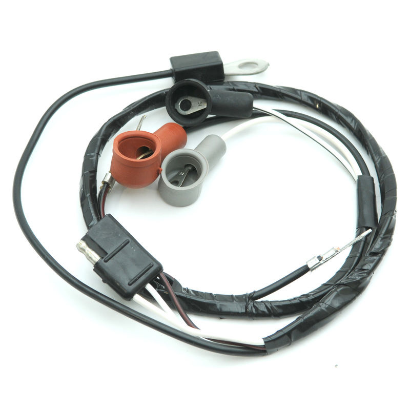 1967-1968 Mustang Alternator Wire Loom, 8 cyl Big Block, w ...
