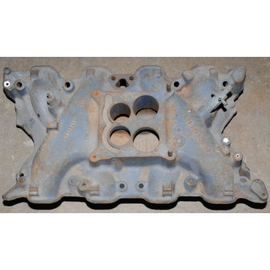 1969-1970 Mustang Intake Manifold, 8 cyl, 4BBL, 351C, Spread Bore